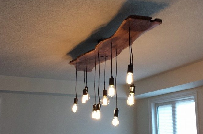 structure reclaimed wood dining room light fixture b l e n d. Black Bedroom Furniture Sets. Home Design Ideas