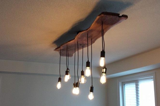 structure reclaimed wood dining room light fixture b l e n d. Black Bedroom Furniture Sets. Home Design Ideas