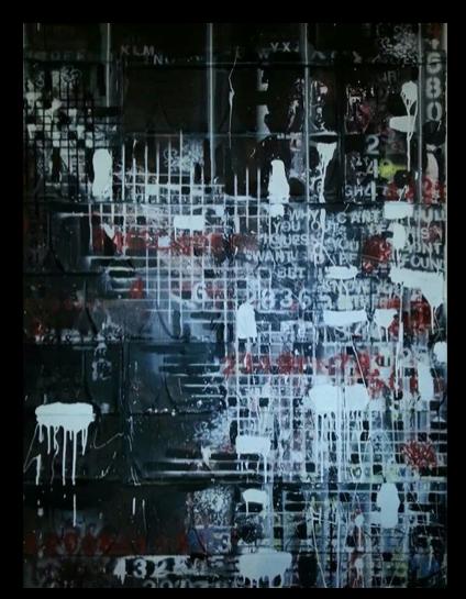 ART-FindingThem-72x48 mixedmedia on steel-2012